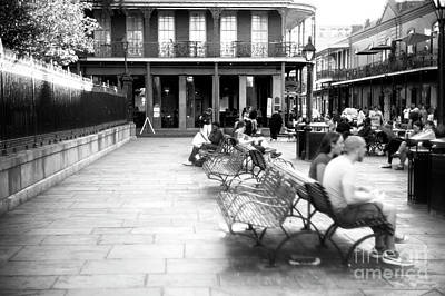 Photograph - Dreaming In Jackson Square New Orleans by John Rizzuto