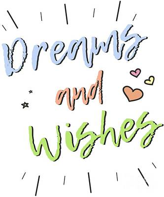 Digital Art - Dreams And Wishes by Flippin Sweet Gear