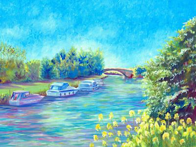 Painting - Dreamy Days by Elizabeth Lock