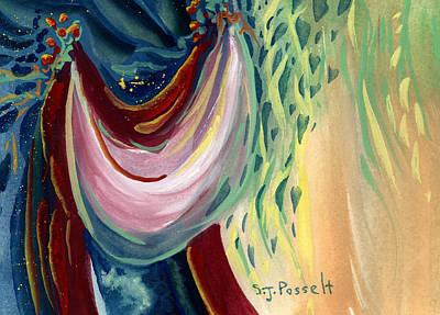 Painting - Dreamy Hearts by Sheri Jo Posselt