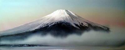 Painting - Dreamy Mount Fuji by Alina Oseeva