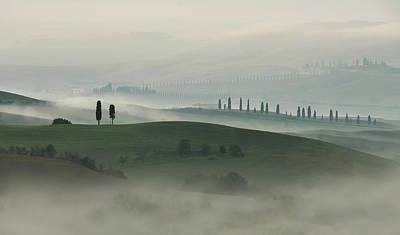 Photograph - Dreamy Toskany by Jaroslaw Blaminsky