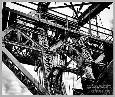Photograph - Dredge Platform by Jennifer Lake