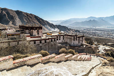 Photograph - Drepung Monastery In Lhasa, Tibet Autonomous Region Of China by Didier Marti