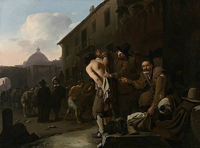 Painting - Dress The Nudes by Michiel Sweerts