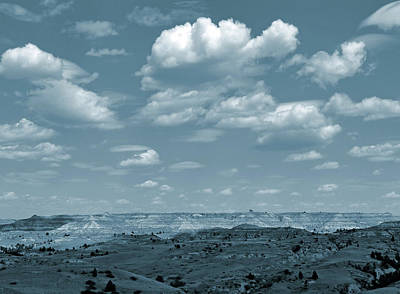 Photograph - Drifting Clouds And Shifting Shadows by Cris Fulton