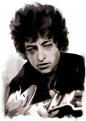 Drifting Words II   Bob Dylan Original