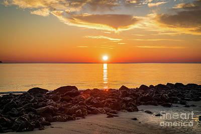 Photograph - Driftwood Beach - Sunrise - Jekyll Island by Sanjeev Singhal
