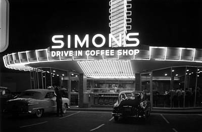 Photograph - Drive-in Coffee Shop by Kurt Hutton