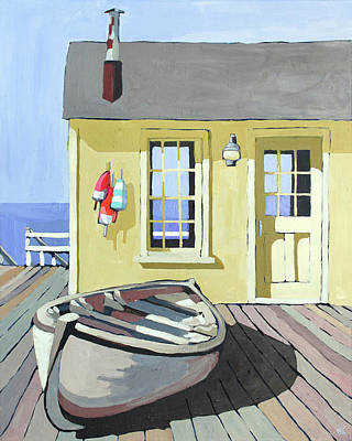 Painting - Dry Dock by Melinda Patrick