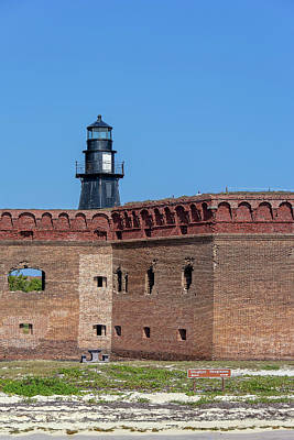 Photograph - Dry Tortugas National Park, Fort Jefferson by Kay Brewer