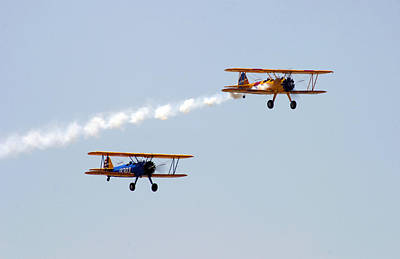 Photograph - Dual Bi-planes by Anthony Jones