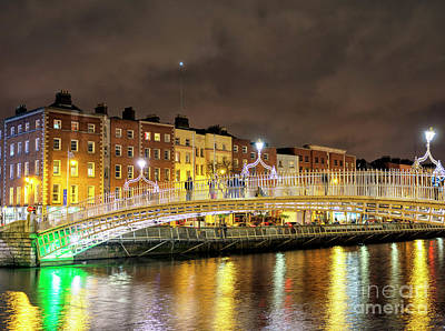 Photograph - Dublin Nights by John Rizzuto