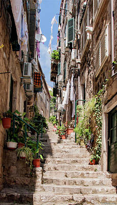 Photograph - Dubrovnik Streets 6 by Weston Westmoreland