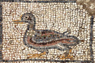 Mellow Yellow - Duck mosaic by Steve Estvanik