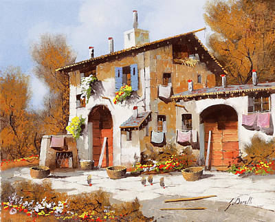 Royalty-Free and Rights-Managed Images - Due Portoni Rossi by Guido Borelli