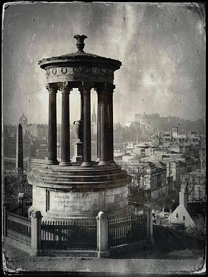 Photograph - Dugald Stewart Monument by Dave Bowman