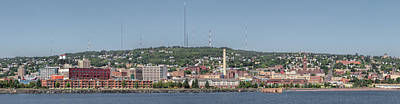 Photograph - Duluth Minnesota Panorama  by Susan Rissi Tregoning