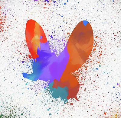 Painting - Dumbo Paint Splatter by Dan Sproul