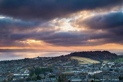 Photograph - Dundee and the Tay from the Law by Diarmid Weir