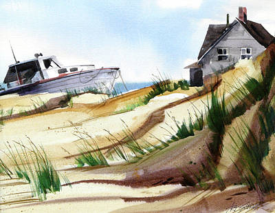 Painting - Dune Docked by Art Scholz
