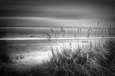 Photograph - Dune Dreams In Black And White by Debra and Dave Vanderlaan
