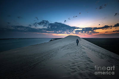 Photograph - Dune Du Pilat - Sunset Impressions by Hannes Cmarits