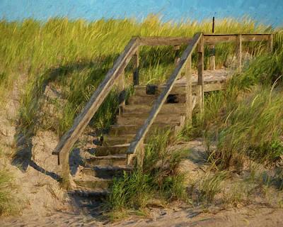 Polaroid Camera - Dune Steps by Cathy Kovarik