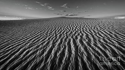 Photograph - Dune Swept by Doug Sturgess