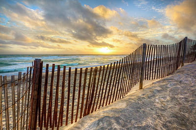 Photograph - Dunes At The Sea by Debra and Dave Vanderlaan