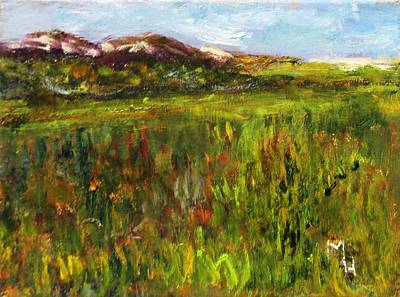 Painting - Dunes In The Distance by Michael Helfen