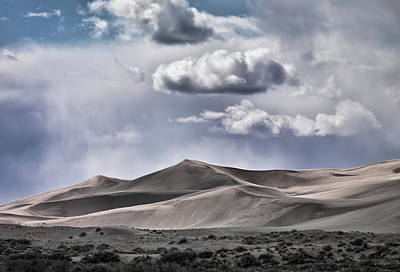 Photograph - Dunes by Leland D Howard
