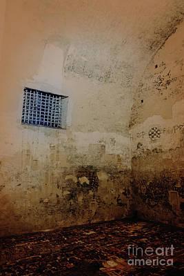Photograph - Dungeon In The Castello Estense by Marina Usmanskaya
