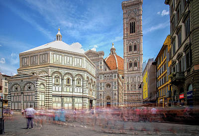 Photograph - Duomo Baptistery  by Matthew Pace
