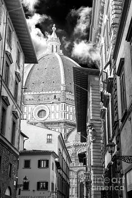 Photograph - Duomo Di Firenze From Via Dei Servi by John Rizzuto