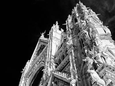 Photograph - Duomo Di Siena by John Rizzuto