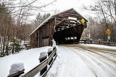 Fathers Day 1 - Durgin Covered Bridge by Robert Clifford