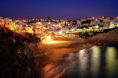 Photograph - Dusk At Carvoeiro by Michael Blanchette