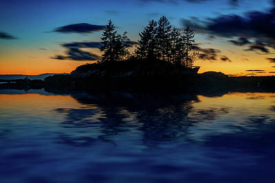 Photograph - Dusk At Lookout Point by Rick Berk