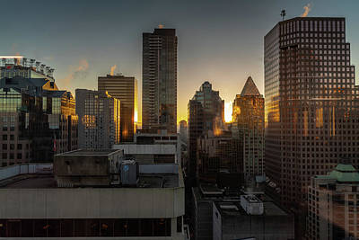 Photograph - Dusk In The City by Ross G Strachan