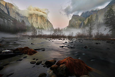 Photograph - Dusk In Yosemite by Jon Glaser