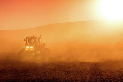 Photograph - Dusty Fields by Todd Klassy