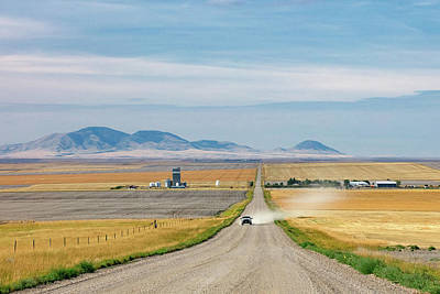 Photograph - Dusty Road by Todd Klassy