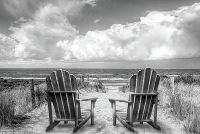 Photograph - Dutch Blue In Black And White by Debra and Dave Vanderlaan
