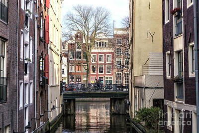 Photograph - Dutch Buildings In Amsterdam by John Rizzuto