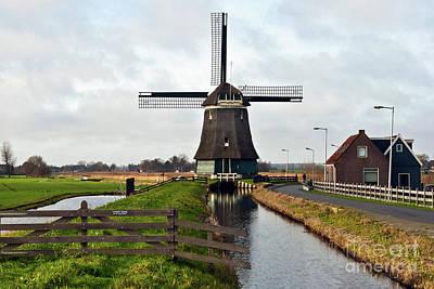 Photograph - Dutch Wind Mill Sound by Silva Wischeropp