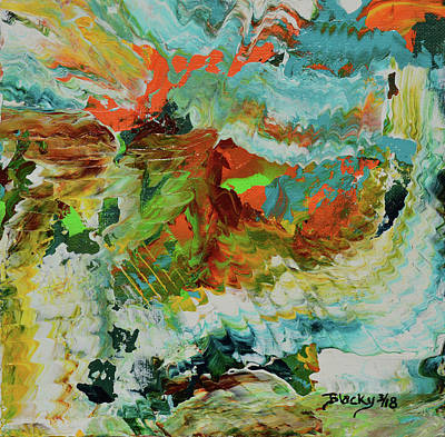 Painting - Dynamic Tension by Donna Blackhall