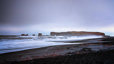 Science Collection - Dyrholaey from Reynisfjara by Framing Places