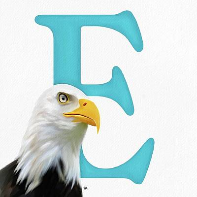 Photograph - E Is For Eagle by Tammy Lee Bradley