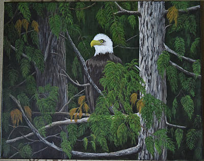 Painting - Eagle by Gloria Johnson